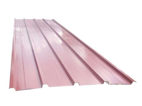 Chapa trapezoidal cubierta roja - Cubierta chapa galvanizada ...